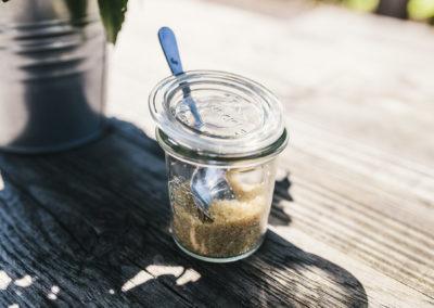 Zucker im Weckglas